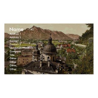 Salzbourg, et l'Unterberg (c.-à-d., Untersberg), A Carte De Visite