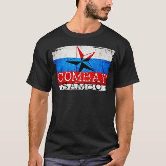 Sambo de Russe de T-shirt de Sambo de combat