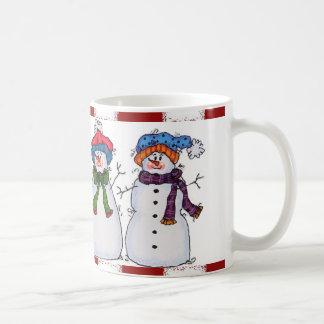 Sammy le bonhomme de neige et la tasse d'amis