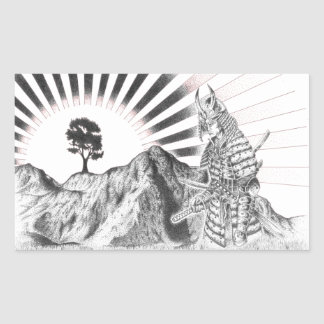 Samouraï warrior and raising sun - M1