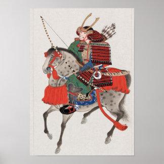 Samouraïs à cheval posters