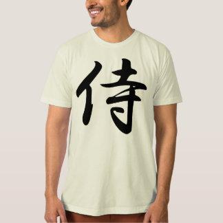 Samouraïs dans le kanji japonais t-shirt