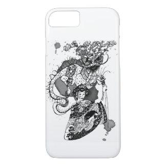 Samouraïs de geisha coque iPhone 7