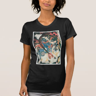 Samouraïs tuant un démon, peinture japonaise t-shirts