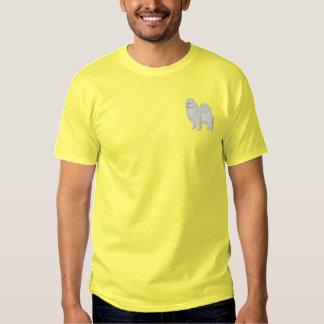 Samoyed T-shirt Brodé