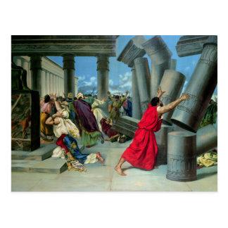 Samson et Delilah Carte Postale