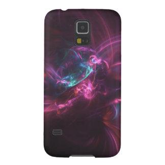 Samsung fractal rose violet coque pour samsung galaxy s5