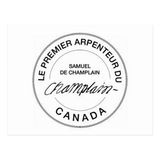 Samuel de Champlain Arpenteur du Canada Cartes Postales