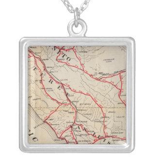 San Benito, Fresno, Monterey, San Luis Obispo Pendentif Carré