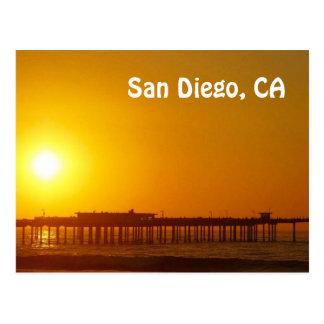 San Diego, carte postale de CA