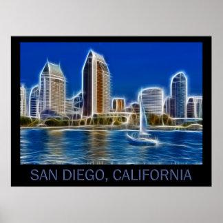 San Diego, la Californie (Etats-Unis) Poster