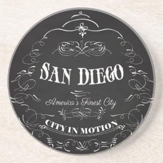 San Diego la ville la plus fine de la Californie,  Dessous De Verre