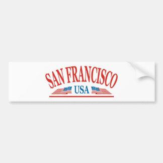 San Francisco Autocollants Pour Voiture