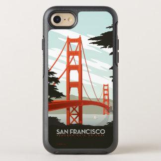 San Francisco, CA - golden gate bridge Coque Otterbox Symmetry Pour iPhone 7