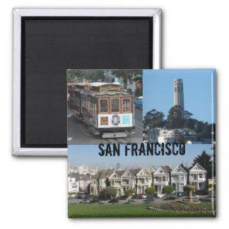 San Francisco, CA Magnet Carré