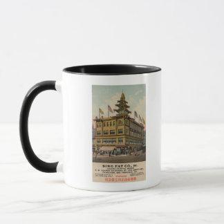 San Francisco, CAChinatown AdSing grosse Cie. Mug