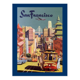San Francisco Carte Postale