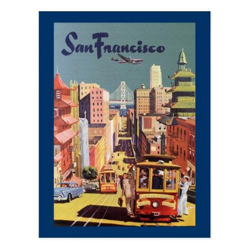 San Francisco Carte Postale