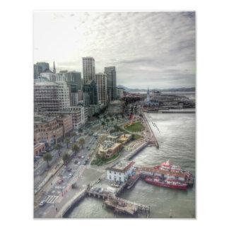 San Francisco de golden gate bridge Impression Photo