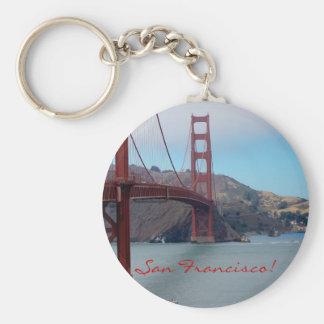 San Francisco, golden gate bridge Porte-clé Rond