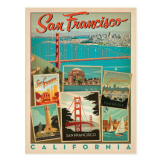 San Francisco, la Californie Carte Postale
