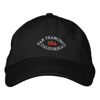 SAN FRANCISCO LA CALIFORNIE, ETATS-UNIS CASQUETTE BRODÉE