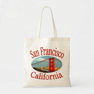 San Francisco la Californie Tote Bag