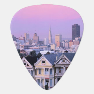 San Francisco, la Californie. Vue de victorien Médiators