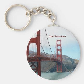 San Francisco Porte-clé Rond