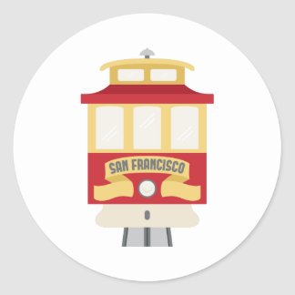 San Francisco Sticker Rond