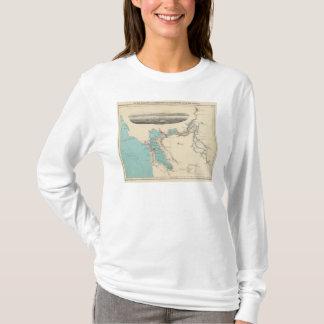 San Francisco vers Sacramento T-shirt