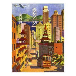 San Francisco vintage Carte Postale
