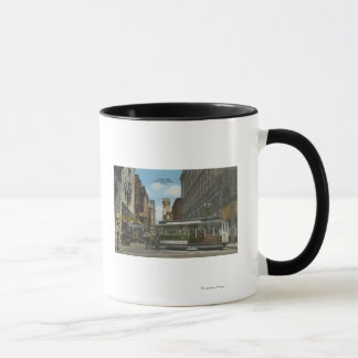 San Francisco, vue de revirement de voiture de Mug