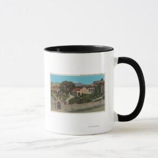 San Juan Capistrano, CAView de la mission Mug