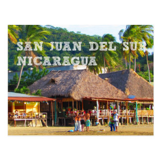 San Juan del Sur, carte postale de plage du