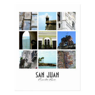 San Juan, Porto Rico Carte Postale