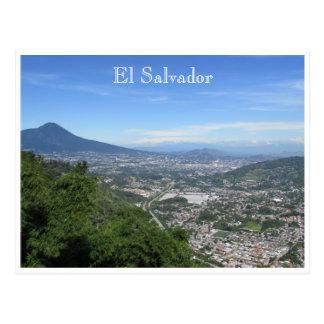 San Salvador éloigné Carte Postale