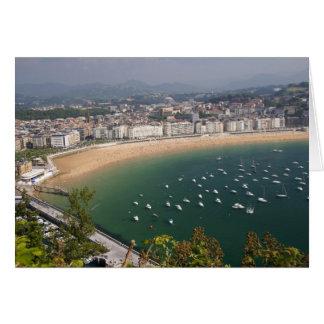 San Sebastian, Espagne. La ville Basque de San Carte De Vœux