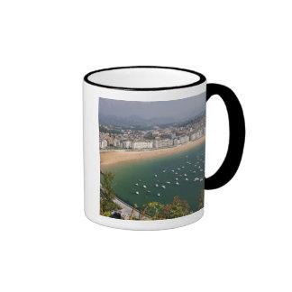 San Sebastian, Espagne. La ville Basque de San Mug Ringer