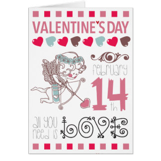 San Valentin Day Cards Carte De Correspondance
