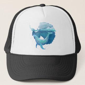 Sanctuaire de baleine d'océan du sud casquette de camionneur