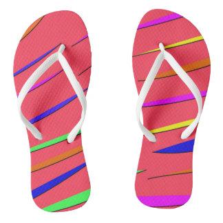 Sandales au néon tongs