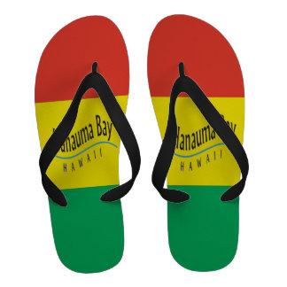 Sandales de reggae d Hawaï de baie de Hanauma