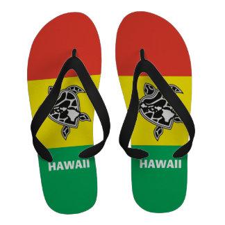 Sandales de reggae de tortue d Hawaï