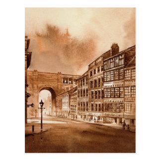 Sandhill Newcastle sur la carte postale de Tyne