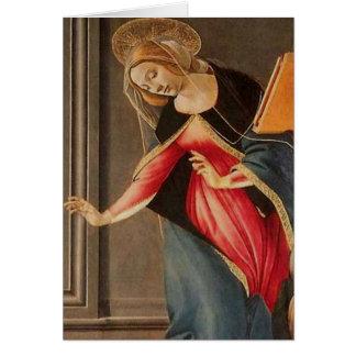 Sandro Botticelli - Madonna (détail) Cartes