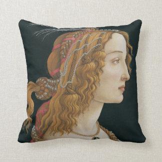 Sandro Botticelli - portrait idéalisé de Madame Oreiller