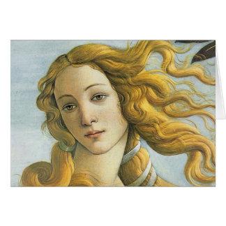 Sandro Botticelli - Vénus (détail) Cartes