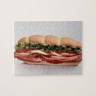 Sandwich à épicerie puzzle