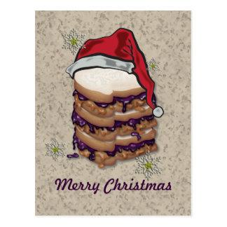 Sandwichs à beurre et à gelée d'arachide de Joyeux Carte Postale